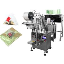 Máquina embaladora de saquinhos de chá em pirâmide interna / externa