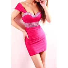 Горячий стиль Европейский и американский стиль это свадебное платье для свадьбы сексуальная ночной клуб dress7919