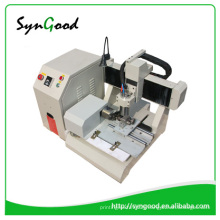 Metal Engraving Machine SG4040 cnc router 4 axis