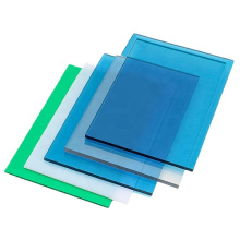 Supplier high light transparency 8mm 10mm sound barrier polycarbonate solid sheet for skylight roofing highway
