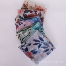 New arrival fashion strips textured women hijab scarf cheap chiffon hijab scarf shawl