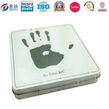 Square Shaped Metal Box for Promotion Gift