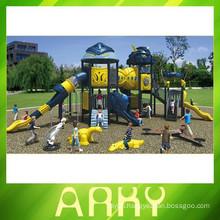 2015 used children outdoor transformers playground equipment