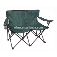 Dois lugares dobrável acampamento casal amante da praia cadeiras w titular