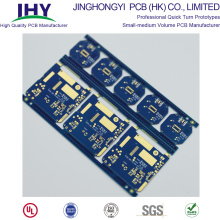High Quality Printed Circuit Board Blue 2 Layer Double Sided PCB