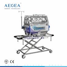 AG-011A hospital equipo de cuidado de recién nacidos portátil incubadora de bebés