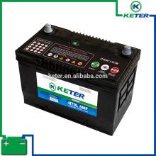 Batería de coche de plomo 12V180AH y tapa de la batería del camión