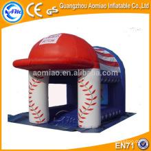 Chapeau gonflable en forme de chapeau gonflable néo bouncer, bouncer enfant drôle avec moustiquaire