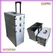 Сделанный на заказ алюминиевый корпус тележки для парикмахера (SATCMC016)