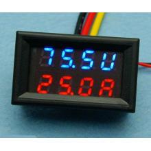 DC 0-200V 0-100A Voltmeter Ammeter LED Panel AMP Digital Volt Gauge