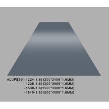 Plaque en aluminium gris fer brillant 5052 1200 * 2400 * 1.6mm