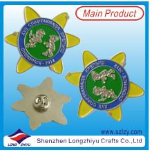Kundengebundener russischer silberner Anstecknadel für Kinder (LZY-10000294)