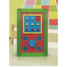 Wooden Magic Cube Puzzle Wall Game Toy for Kids