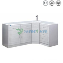 Yszh13 Hôpital Corner Combination Cabinet Medical Furniture