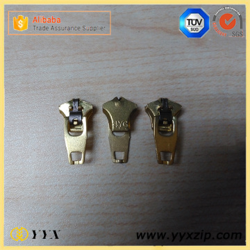 Spring Lock YG4 Jeans Metal Zipper Slider