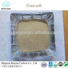 Espiga de milho granular para cloreto de colina