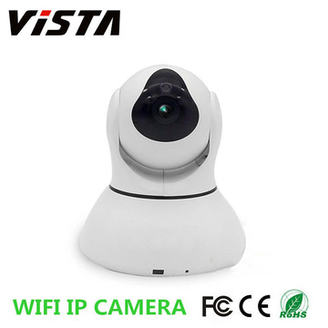 Caméra IP sans fil 720p Hi3518 deux voies Audio Night Vision