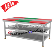 S233 Stainless Steel Chopping Board Kitchen Working Bench