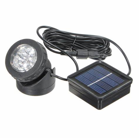 outdoor waterproof pool solar LED