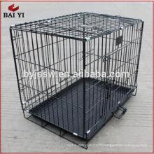 """hebei shijiazhuang noir 48 """"2 porte cage pour animaux de compagnie (pas cher usine directe)"""