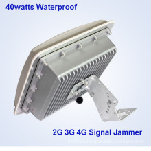 Signal Blocker 8-Bands Waterproof Built-in Antenna Prison Signal Jammer