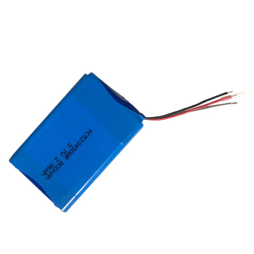 523450 3.7V 800mAh 2.96Wh Batterie Li-ion rechargeable