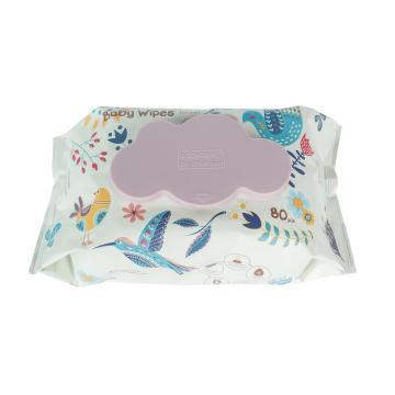 Flushable Baby Skin Care Wet Tissue For Children