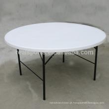 Tabelas e cadeiras Multifunction redondas do partido da tabela da tabela de dobradura