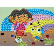 DIY стикер Мозаика для Дора
