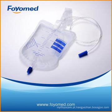 CE, ISO Aprovado Grande Qualidade 2000ml Urina Saco