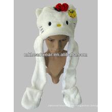 Ideas divertidas del sombrero de la felpa linda de los niños