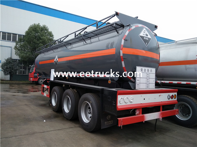 Sulfuric Acid Semi Trailers