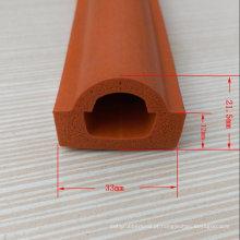Produto personalizado da tira da selagem da borracha de espuma do silicone