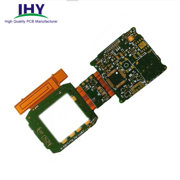 Rigid-Flexible Fr4 Flex Circuit Board Gold Plating PCB