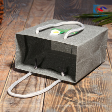 amostra grátis mini saco de presente personalizado com logotipo