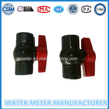 Plastic Control Ball Valves for Water Meter of Dn15-25mm