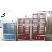 armário de suspensão de alumínio inoxidável da parede da cozinha do obturador de rolo