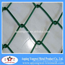 YW-PVC Coated Garden Fence Chain Link Netting