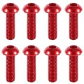 Anodized 7075 Aluminium Button Head Cap Screws