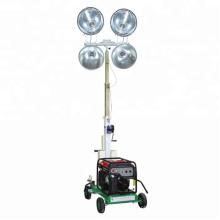 Preço da torre de luz led móvel para obras de construção ao ar livre FZMT-1000B