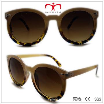 Plastic Unisex Round Sunglasses (WSP508350)