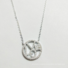 New selling 925 sterling silver pendant love love necklace