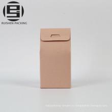 Цветные крафт подарочные бумажные пакеты с четкими qindow