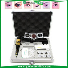 2015 getbetterlife profissional maquiagem permanente sobrancelha lábio eyeline tatuagem kit