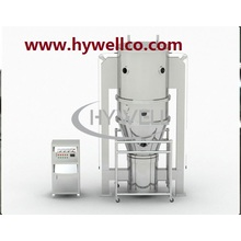 Secador de ebullición vertical de lecho fluido