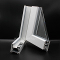 Profils uPVC d'extrusion en plastique pour Windows