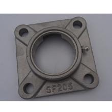 Bloc d'oreiller en acier inoxydable de haute qualité à bride carrée portant sf205