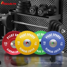 Gym Fitness Equipment Rubber Barbell Standard Weight Plates