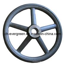 Сталь / Инвестиции / Утраченная пена / Точное литье для ручного колеса (IC-12)