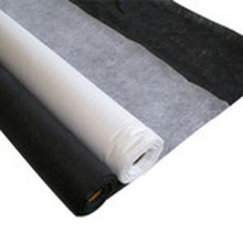 Interlignage fusible non tissé Double-DOT avec blanc noir